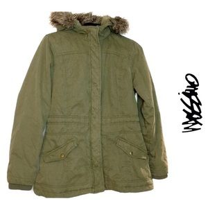 💜 MOSSIMO Supply Co army green jacket